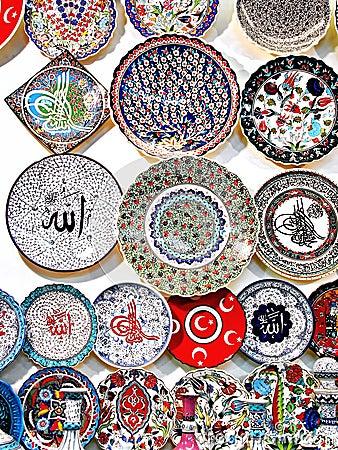 Souvenir ceramics