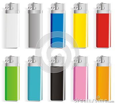 Souvenir color lighters