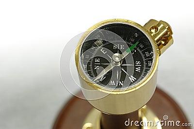 Souvenir Compass Stock Photo