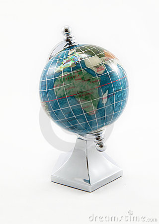 Souvenir gem globe