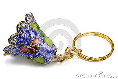 Souvenir hand bell-charm