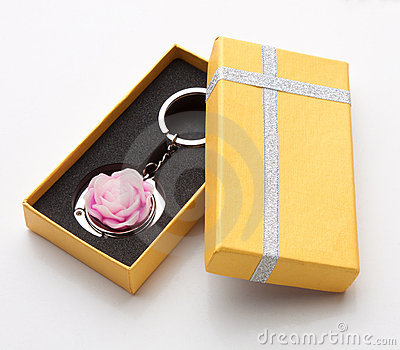 Souvenir Keychain Ring Royalty Free Stock Images - Image: 21589079