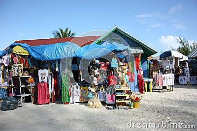 Souvenir Market at Coco Cay