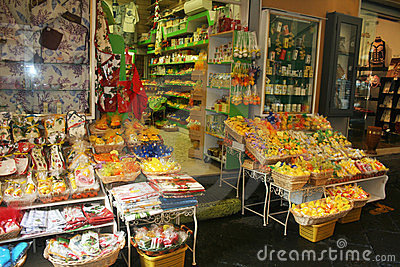 Souvenir s shop Editorial Stock Photo