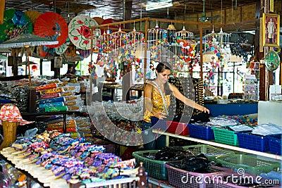 Souvenir shop Editorial Stock Photo