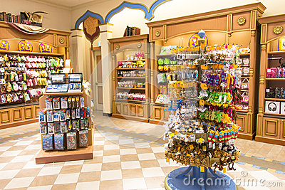 Souvenir Shop Editorial Photo