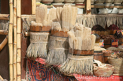 Souvenir shop in Egypt