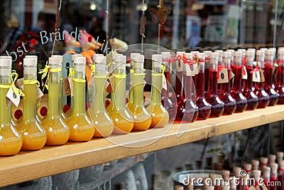 Souvenir shop in Heidelberg Editorial Photography
