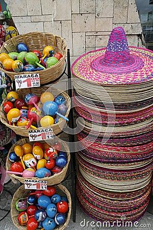 Free Souvenir Shop, Mexico Royalty Free Stock Photo - 9190075
