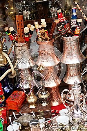 Souvenir shop in Sarajevo, Bosnia and Herzegovina