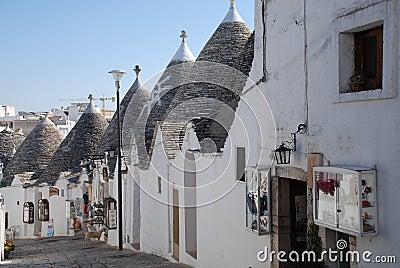 Souvenir Shops in Alberobello Editorial Photography