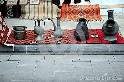 Souvenirs and carpets