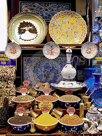 Free Souvenirs Of Istanbul Grand Bazaar Royalty Free Stock Photos - 5193108