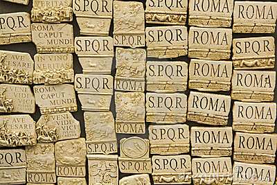 Souvenirs of Rome, Italy