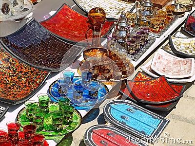 Souvenirs at turist market