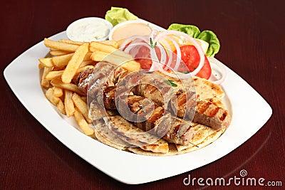 Ελληνικό souvlaki