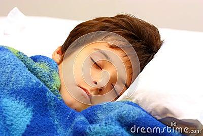 Sova för pojke