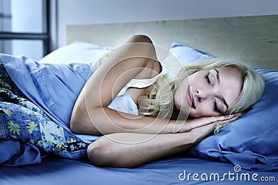 Sova kvinna för underlag