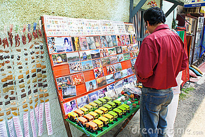 Sovenir shopping in Kochi Editorial Image