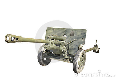 Soviet antitank cannon from WWII