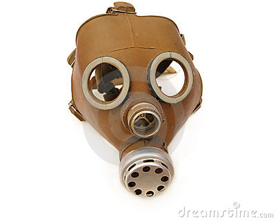Soviet army gas mask