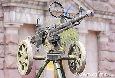 Soviet army World War2 time machinegun