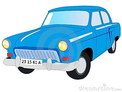 Soviet car Volga