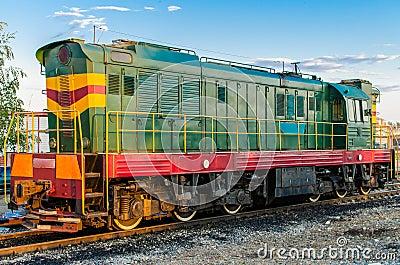 Soviet diesel locomotive