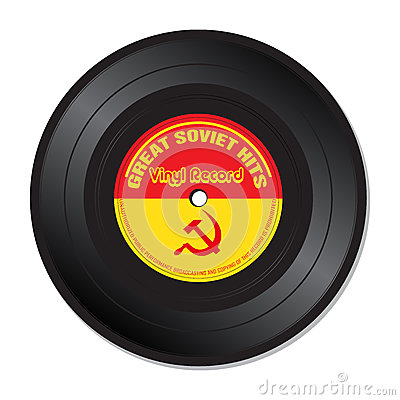 Soviet hits vinyl record