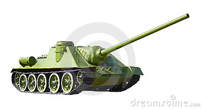Soviet II World War tank