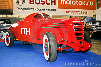 Soviet legendary racing car GL - 1 Editorial Stock Image