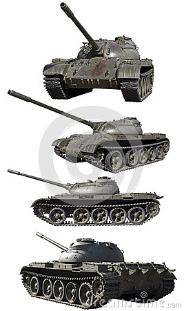 Soviet tank isolated