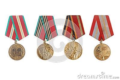 Soviet military jubilee medals