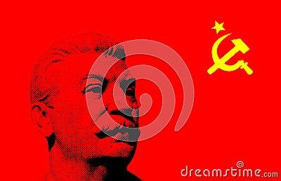 Soviet retro background
