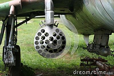 Soviet rocket louncher