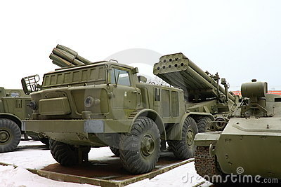 The Soviet and Russian military technics.
