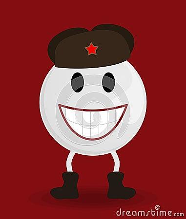 Soviet smile
