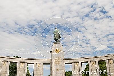 Soviet soldier monument
