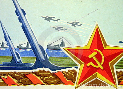 Soviet star and army