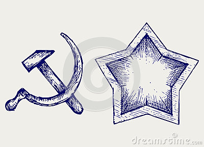 Soviet star icon