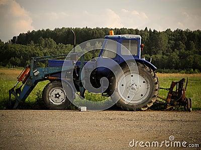 Soviet Union Tractor