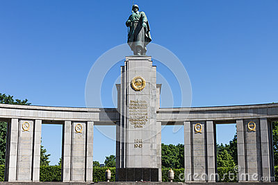 Soviet war monument in Berlin
