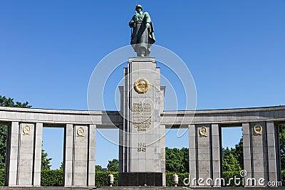 Soviet war monument in Berlin