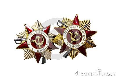Soviet WWII War Medals