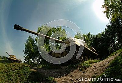 Sovjet tanks Wereldoorlog II