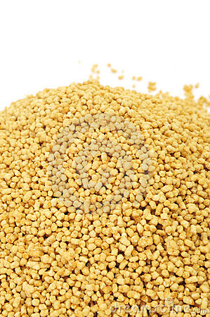 Soy lecithin granules