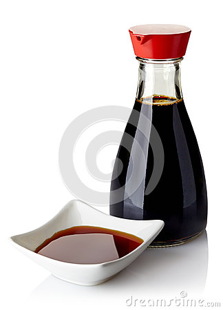 Free Soy Sauce Royalty Free Stock Photography - 39192707