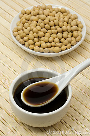 Soy sauce and beans