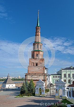 The Soyembika Tower of the Kazan Kremlin
