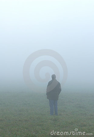 Sozinho na névoa